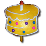 Birthday Cake Yellow