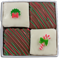 Bite Box Christmas (with two sugar decons)