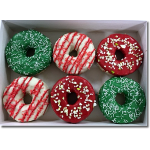 Christmas Krispy Donuts