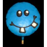 Smiley Crazy Blue