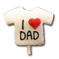 I Love Dad T Shirt