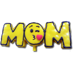 Mom Emoji Kiss